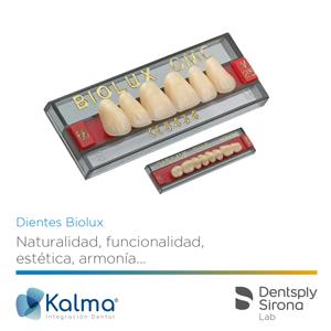 Dientes Biolux de Dentsply Sirona Lab, por Kalma.