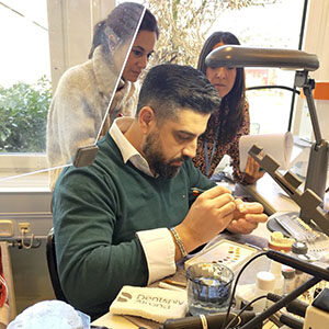 Yamen Chaban trabajando con Celtra Ceram