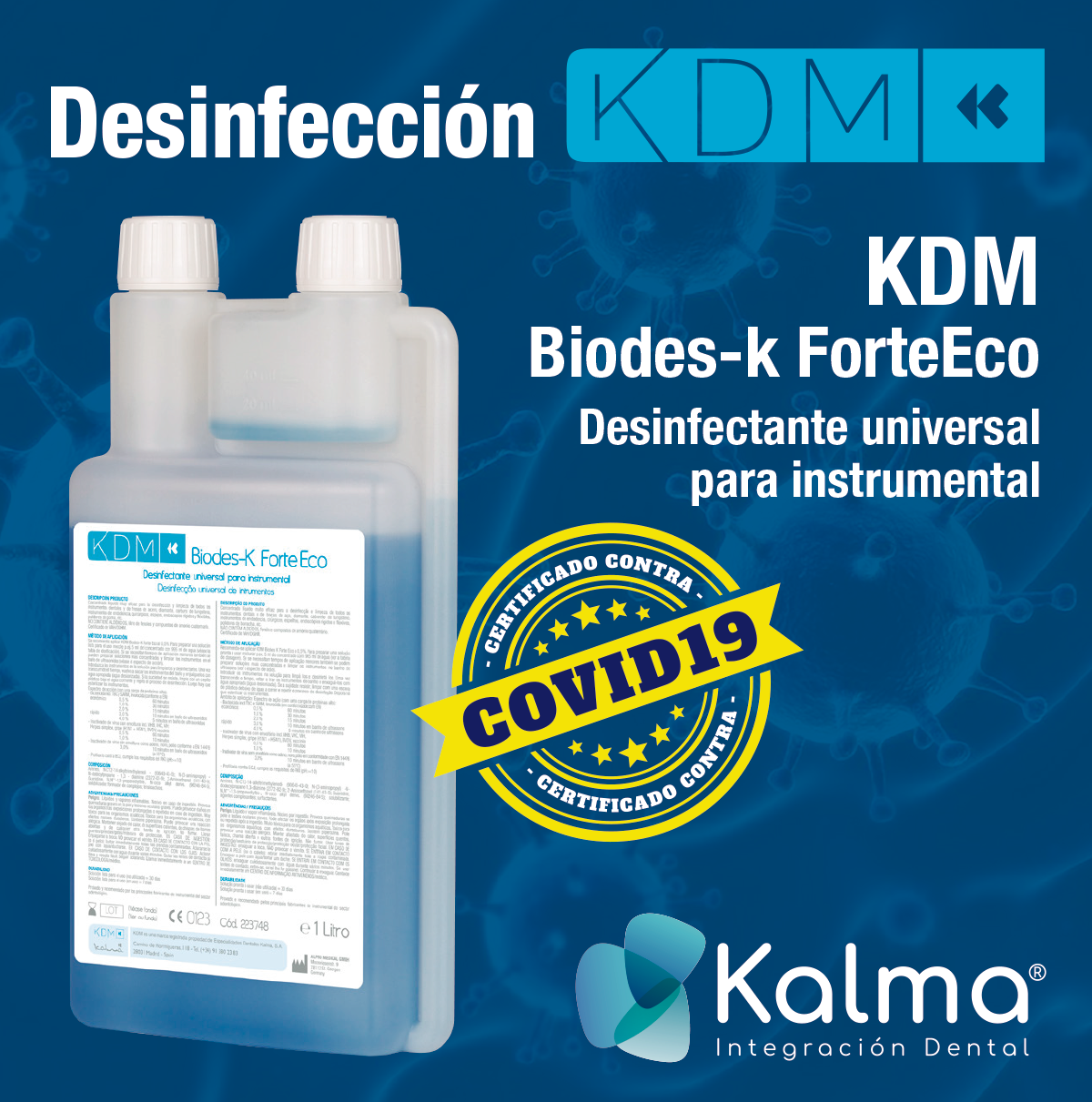 KDM BIODES-K FORTE ECO