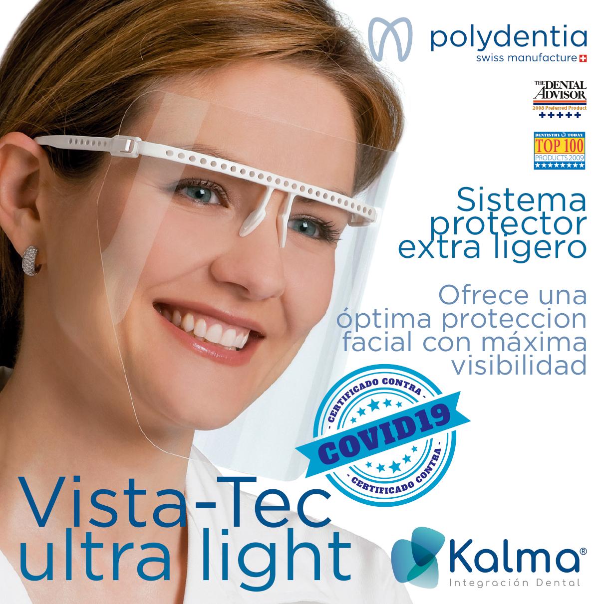 Vista Tec: pantalla protección facial