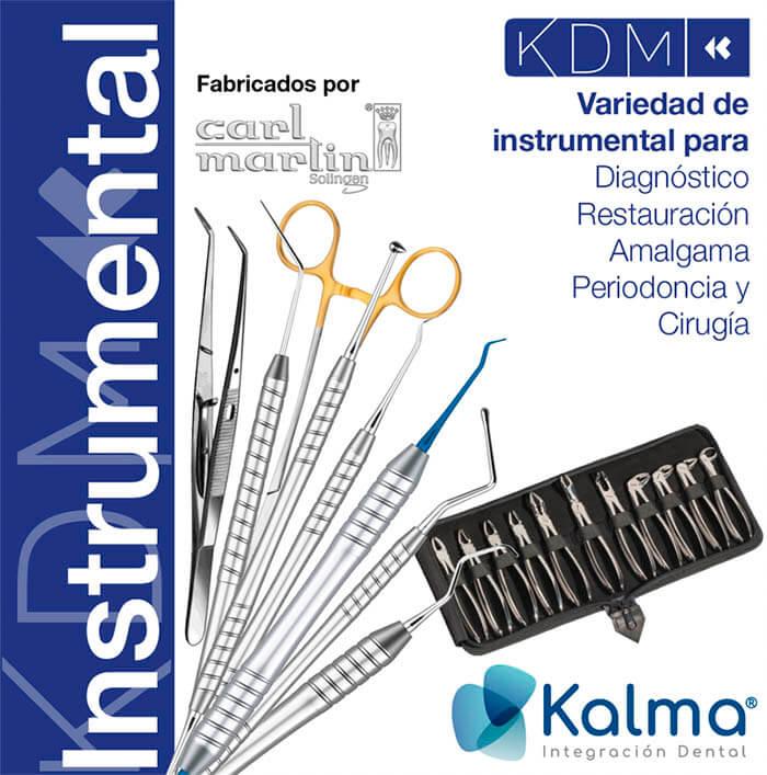 instrumental de mano KDM