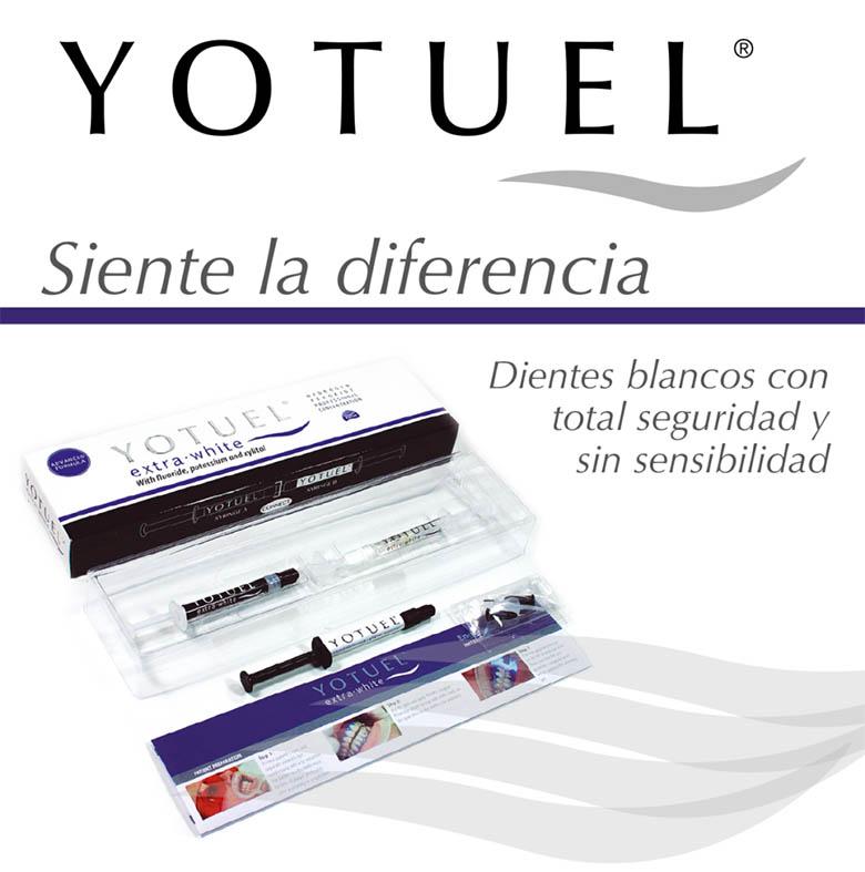 sistema de blanqueamiento dental Yotuel