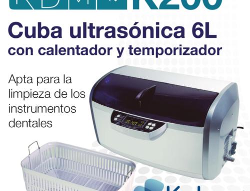 ¿Buscas una cuba de ultrasonidos apta para la limpieza de los instrumentos dentales?