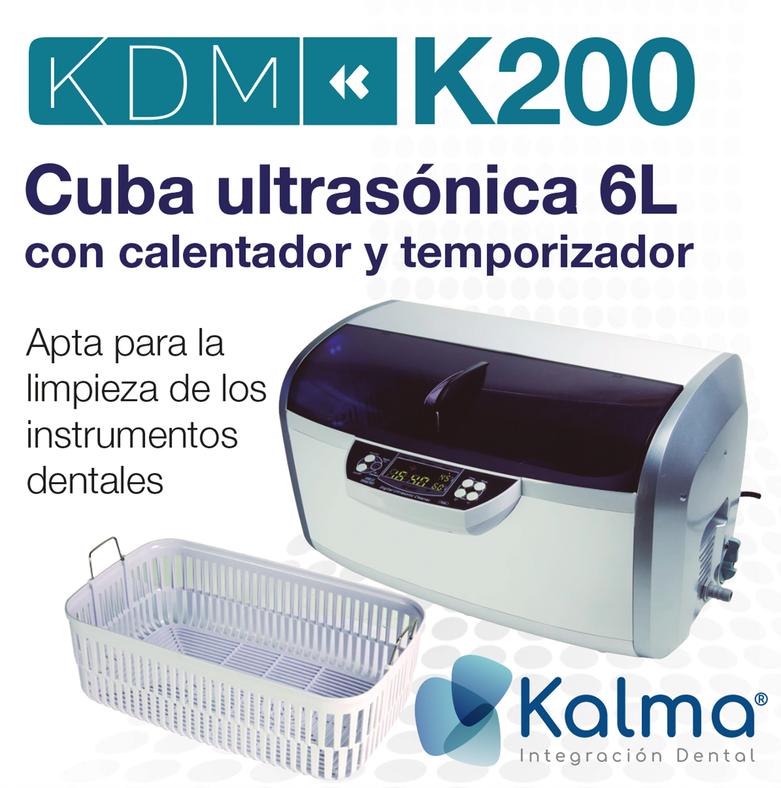 cuba ultrasónica KDM