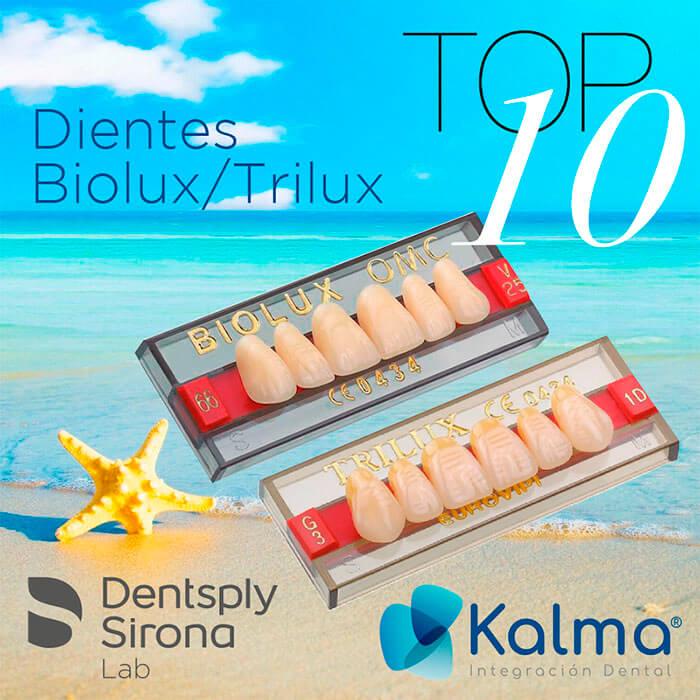 dientes biolux y trilux de Dentsply Sirona Lab
