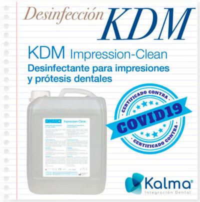 KDM Kwipes spray: desinfectante para superficies