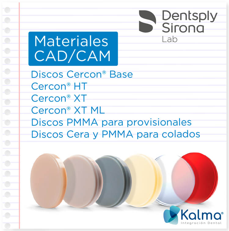 materiales cad/cam Dentsply Sirona Lab