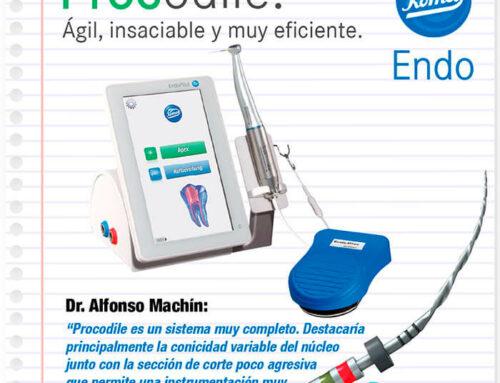 ¿Conoces lo último en limas para endodoncia mecánica? Procodile
