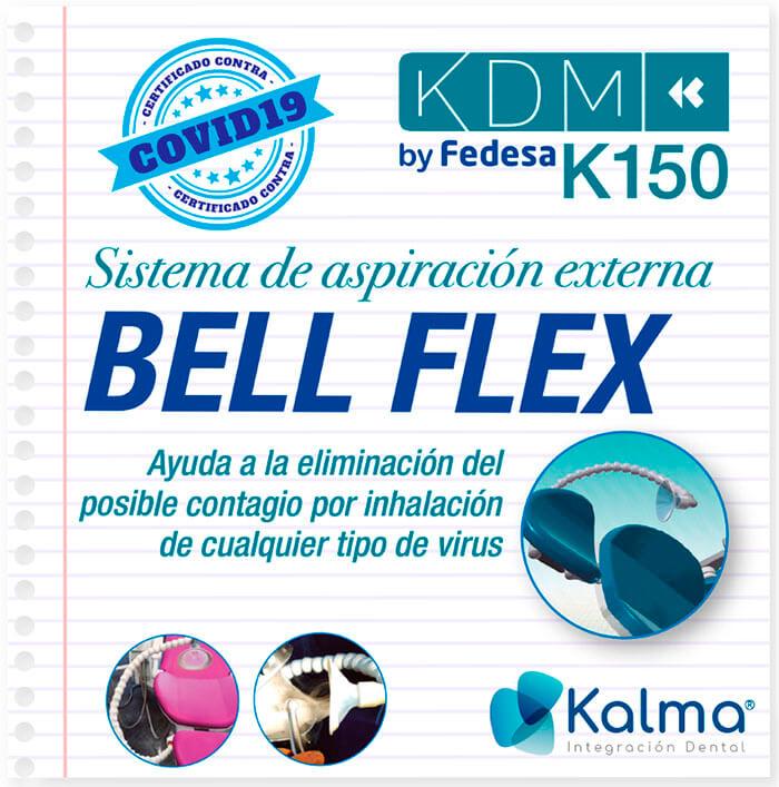 sistema de aspiración manual bell-flex