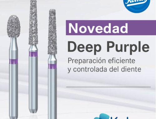 Komet lanza la nueva Fresa diamante Deep Purple