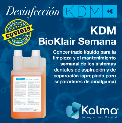 desinfectante semanal kdm