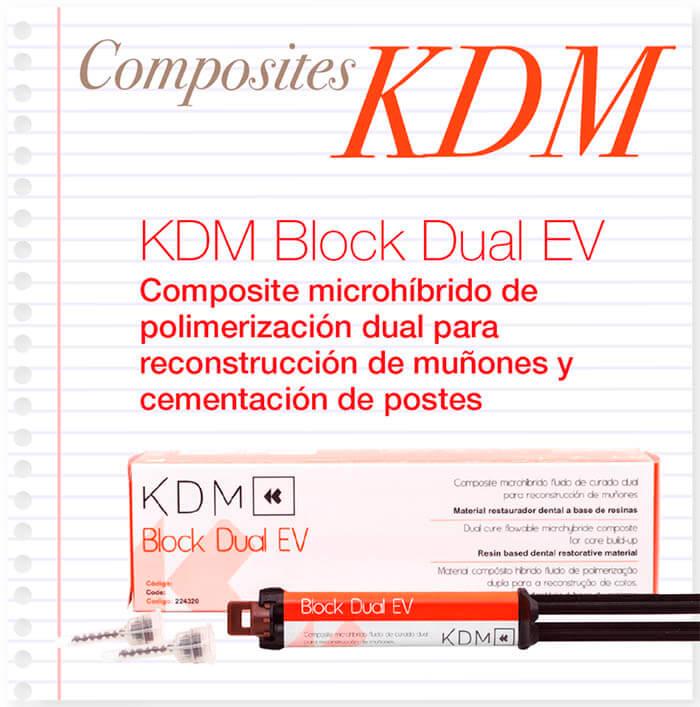 composite dual block dual