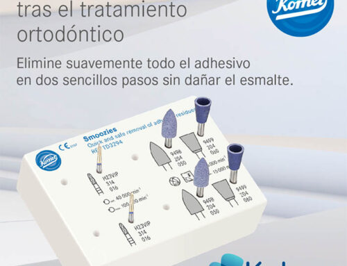 Pulidores y fresa para ortodoncia de Komet: para eliminar de una manera rápida y eficaz el adhesivo y cemento de ortodoncia.