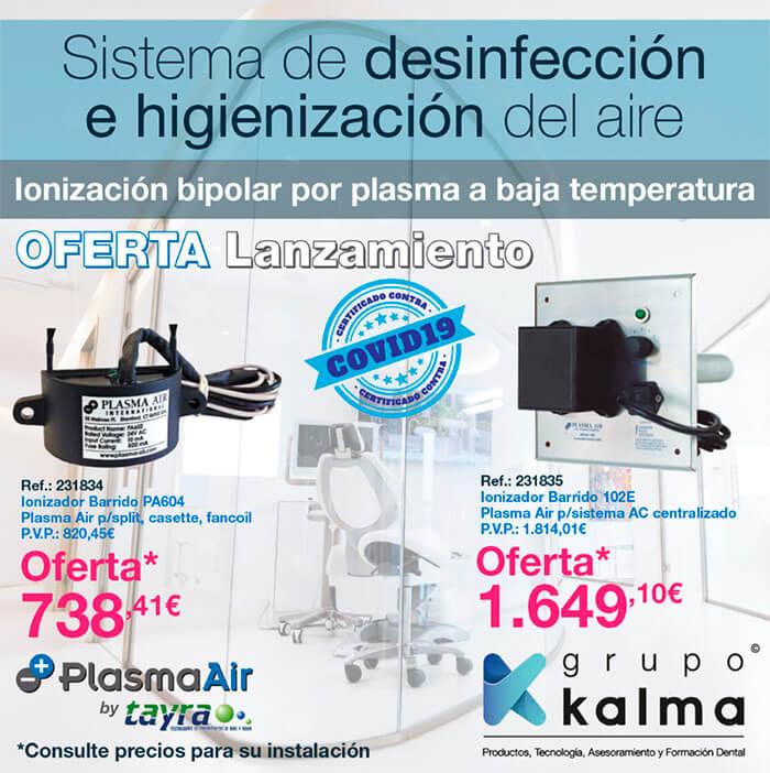 Ionizador biopolar plasma air