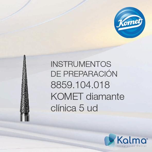 instrumentos de preparación komet