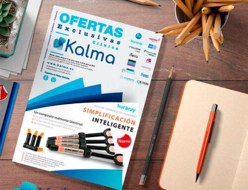 ¡Ya está aquí la revista Kalma Clínica! con ofertas para clínica dental Enero-Abril 2021