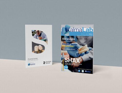 ¡Descarga la revista Kalma Lab con todas las ofertas para el protésico dental y las ofertas Dentsply Sirona LAB!