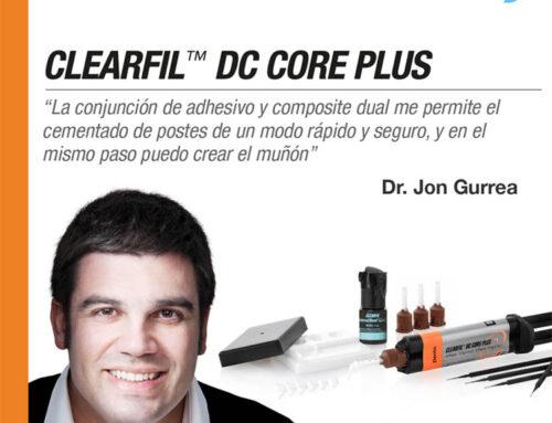 La experiencia del Dr. Jon Gurrea con el cemento DC Core plus de Kuraray
