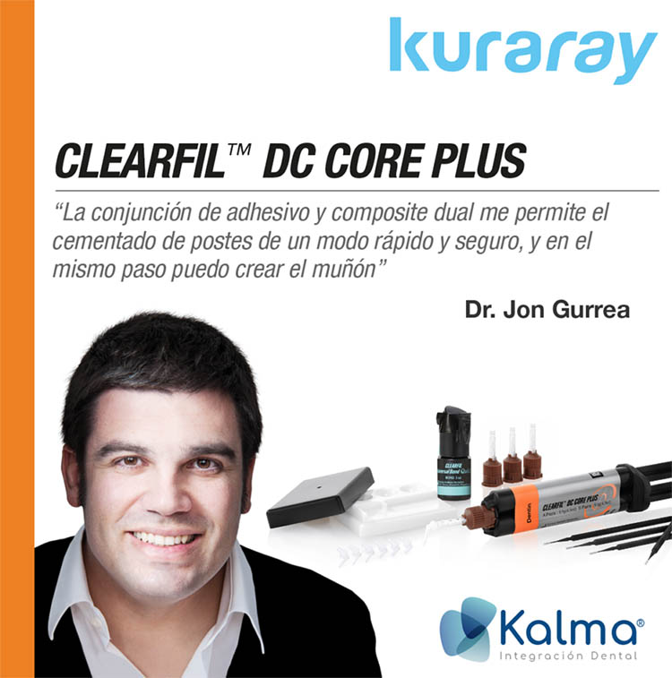 cemento dc core plus de kuraray